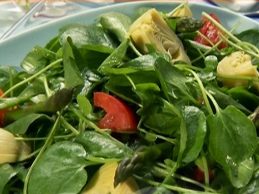 Doğurganlık Arttırmak için Yeşil Salata Tarifi