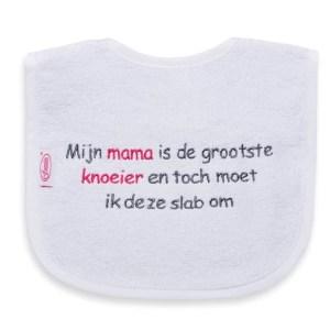 Mijn mama is de grootste knoeier