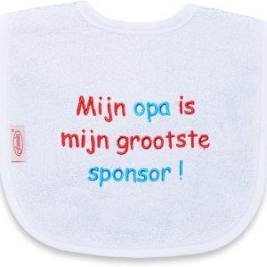Mijn opa is mijn grootste sponsor