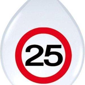 Ballon leeftijd 25 jaar