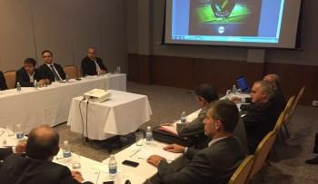 Gerente Executivo Armando Desessards representou o Brasil na reunião da Primeira Liga. Foto: DVG