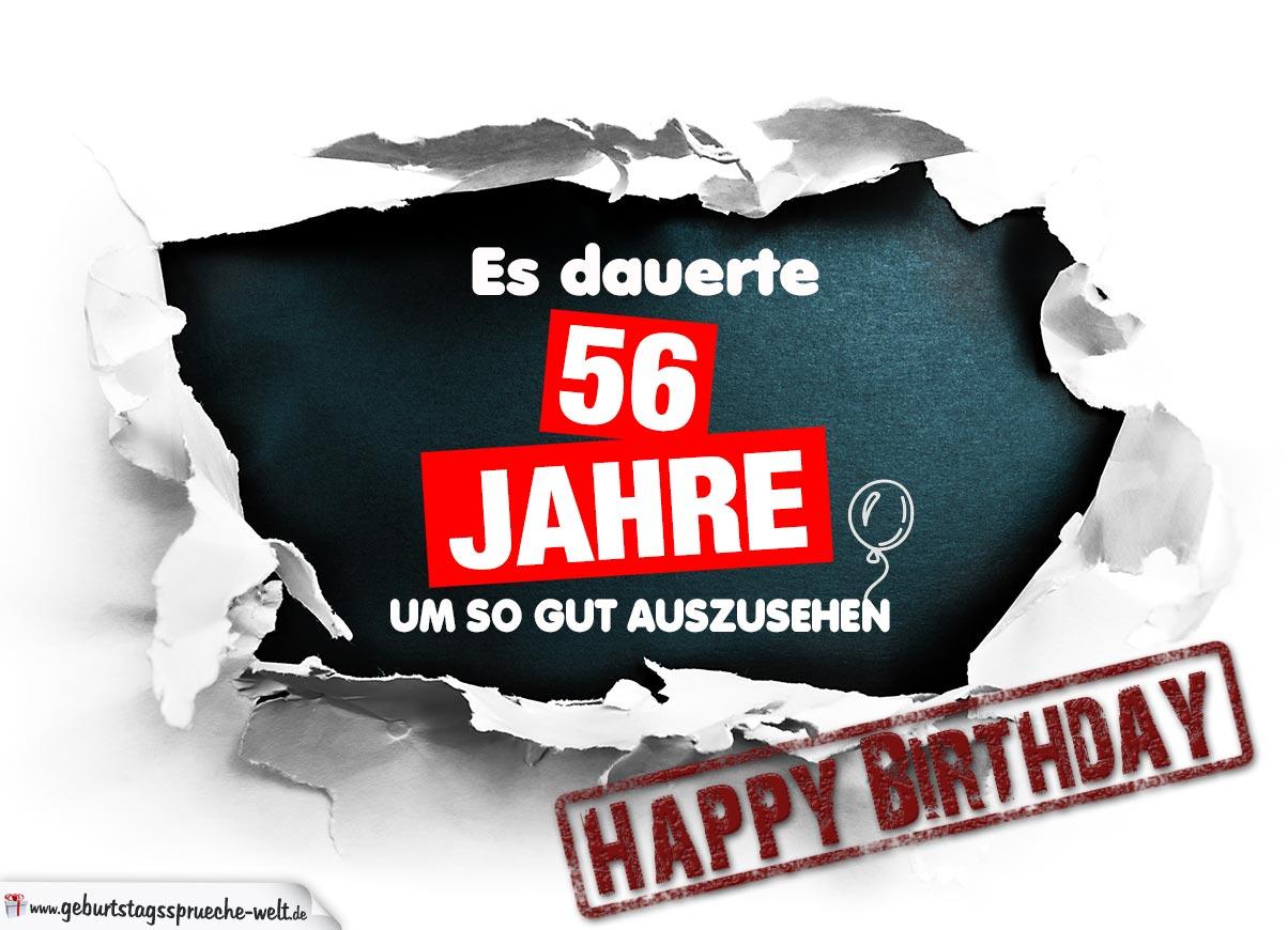 56 Geburtstagskarte Etsy