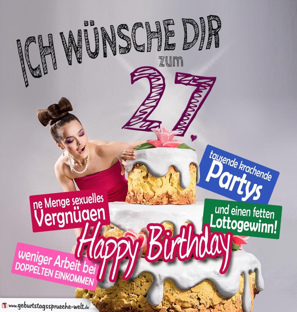 27 Quarantane 27 Geburtstag 27 Tage Poster Von Simpleunique