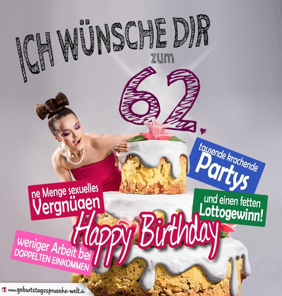 62 Geburtstag Gluckwunsche Und Spruche