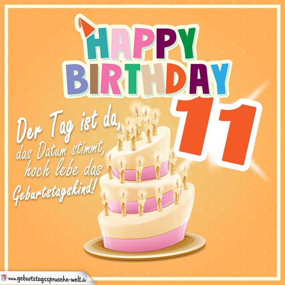 11 Geburtstag Spruche Gluckwunsche