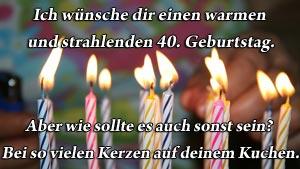 Lustiger Und Origineller Spruch Zum 40 Geburtstag Frauen