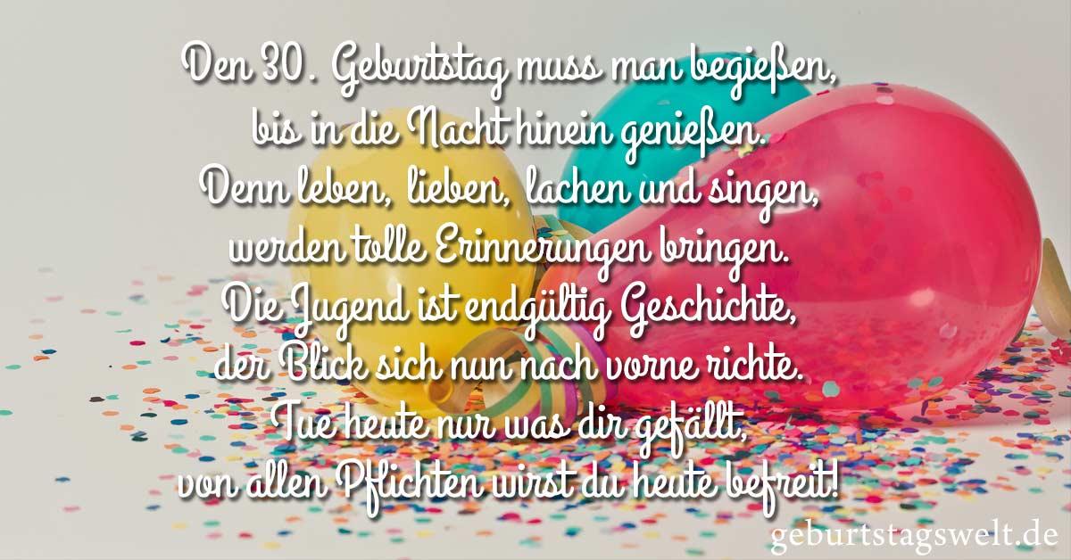 Lustige Spruche Zum Geburtstag 30 Lustige Spruche Zum 30