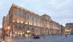 Façade musée des beaux arts de Lyon