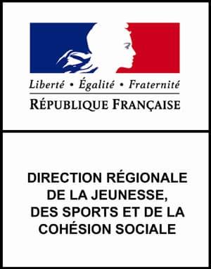 drjscs bretagne logo, direction régionale de la jeunesse des sports et de la cohésion sociale