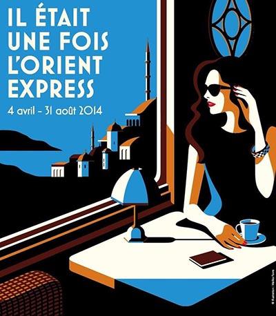 il-etait-une-fois-lorient-express affiche | Institut du Monde Arabe, SNCF