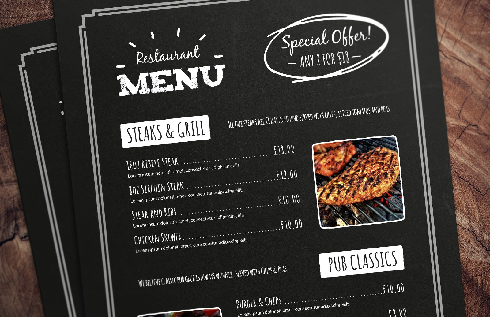 32 Free Simple Menu Templates For Restaurants Cafes And