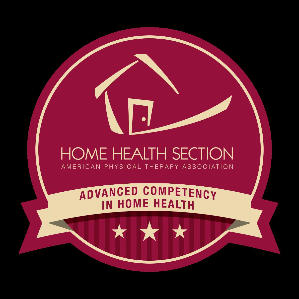 Apta Home Health Badge