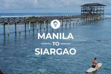 Manila to Siargao cover image