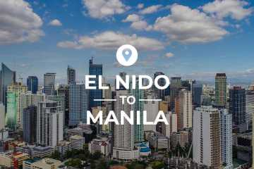 El Nido to Manila cover image