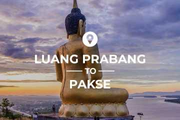 Luang Prabang to Pakse cover image