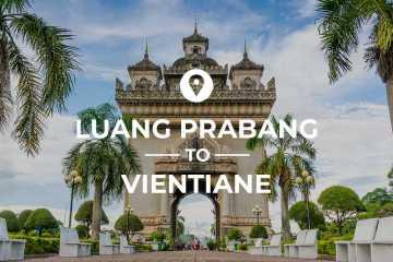 Luang Prabang to Vientiane cover image
