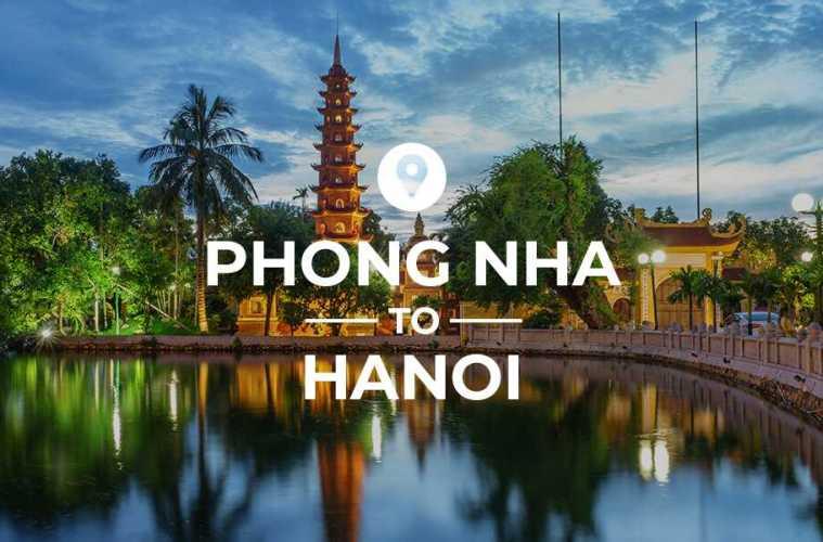 Phong Nha to Hanoi cover image