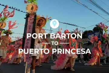 Port Barton to Puerto Princesa cover image