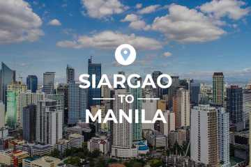 Siargao to Manila cover image