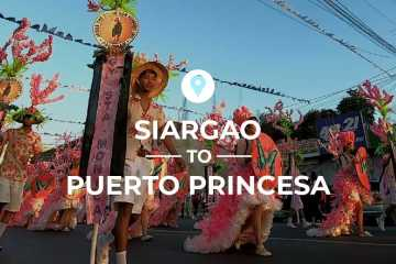 Siargao to Puerto Princesa cover image