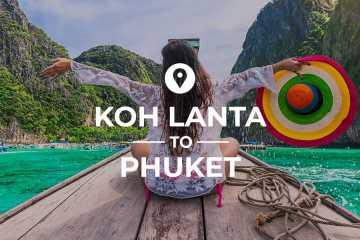 Koh Lanta to Phuket cover image