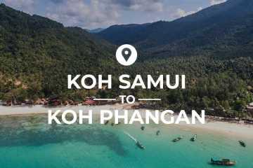 Koh Samui to Koh Phangan cover image