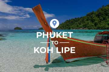 Phuket to Koh Lipe cover image