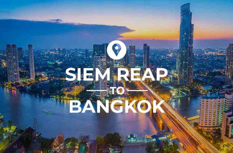 Siem Reap to Bangkok cover image