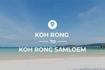 Koh Rong to Koh Rong Sanloem ferry routes