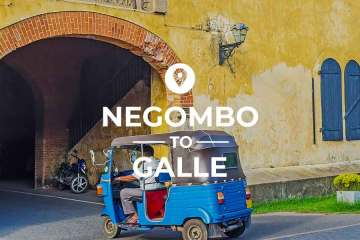 Negombo to Galle coverimage