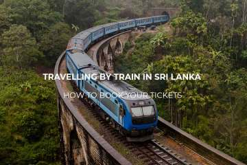 Booking train tickets in Sri Lanka