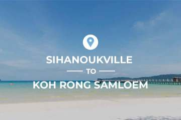 Sihanoukville to Koh Rong Samloem ferry routes