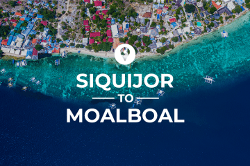 Siquijor to Moalboal Route