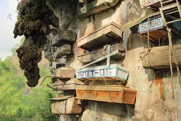 Coffins in Sagada Philippines