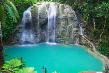 Siquijor Philippines waterfall