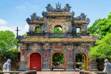 Citadel in Hue Vietnam