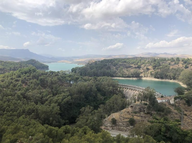 Mountain views on El Chorro