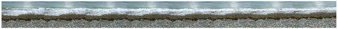 Long slow time/space of the shoreline, Mainland Beach NL (487.7cm x 53.8cm)