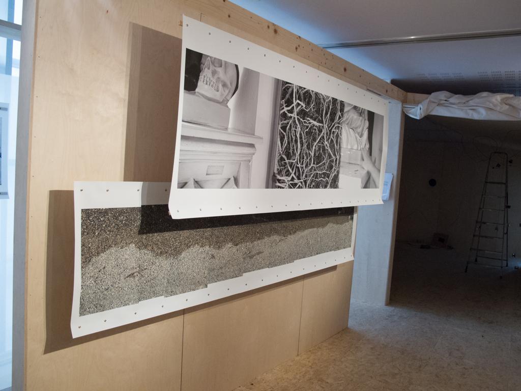 Installation at The Mermaid Arts Centre, Bray, Ireland