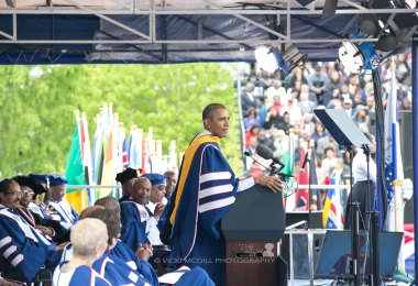 Howard University Commencement Speaker President Barack Obama