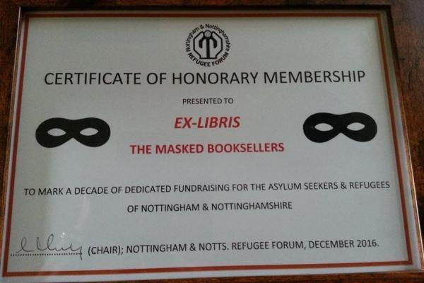 Exlibris-certificate