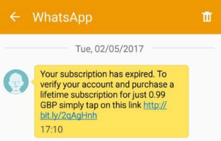 Beware of new WhatsApp scam asking for subscription fee