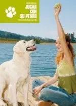 jugar con su perro