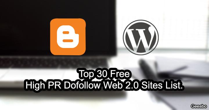 Web 2.0 Sites