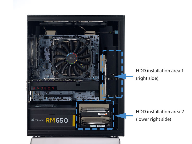 HDD installation for MX200/MX210