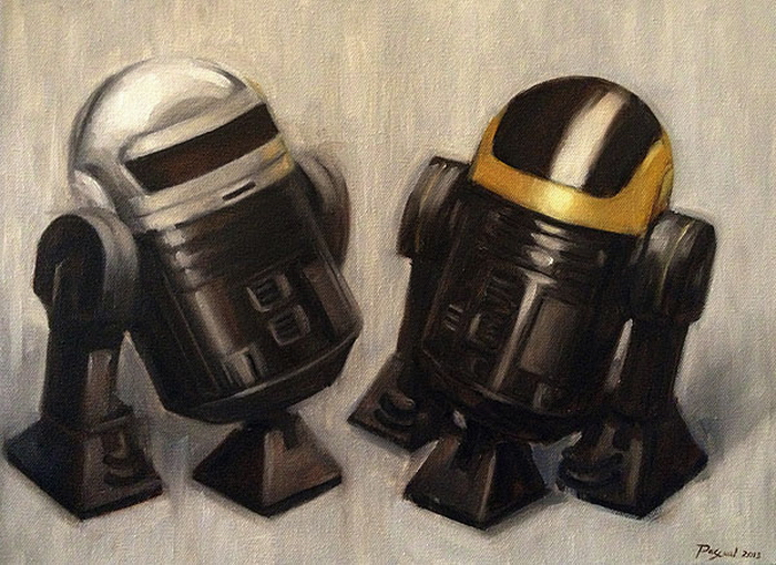 The Droids You're Looking For by Ruel Pascual