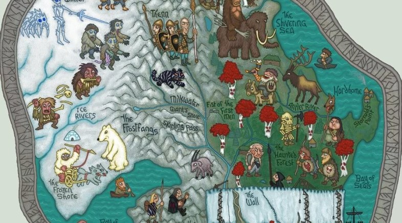 J.E. Fullerton – A Song of Ice and Fire Illustrated Maps