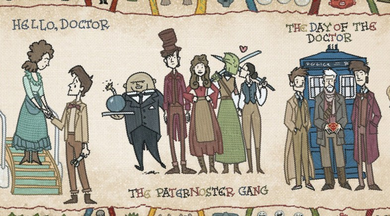 Bill Mudron – Doctor Who Themed Bayeux Tapestry Illustration