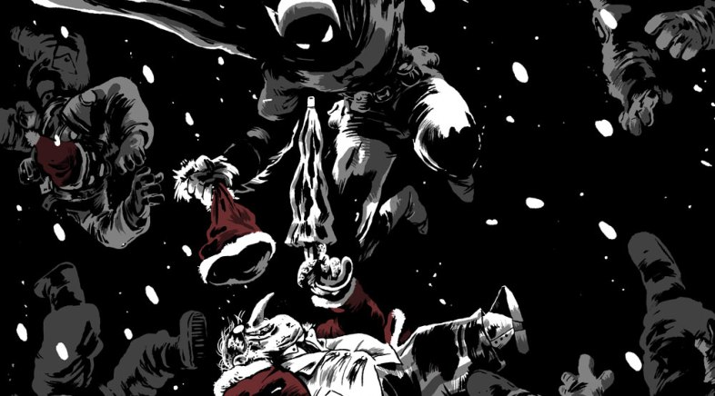 One Year of Batman – The Christmas Fall by Guillaume Singelin
