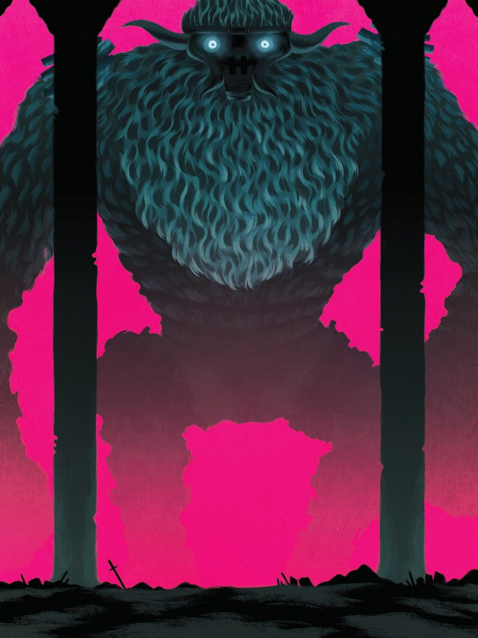 Barba by Jen Bartel - Shadow of the Colossus